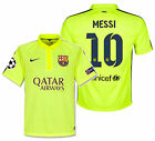 NIKE LIONEL MESSI FC BARCELONA UEFA CHAMPIONS LEAGUE THIRD JERSEY 2014/15