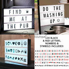 CINEMATIC LIGHT UP LETTER SIGN - Vintage-Style Cinema Box -Party Decoration/Gift