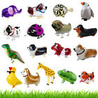 WALKING Pet Animal Helium Foil Balloons Airwalker Kid Child Birthday Party Decor