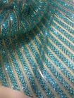 GORGEOUS SPARKLE GLITTER SOFT TULLE BRIDAL DRESS MESH LACE FABRIC  5YDS LOT