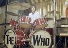 KEITH MOON 15 THE WHO DRUMMING (MUSIC) PHOTO PRINT