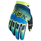Fox Racing Dirtpaw Imperial Blau Gelb Motocross Handschuhe Gloves BMX Downhill