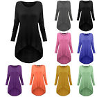 Fashion Women's Loose Long Sleeve Casual Blouse Shirt Tops Plus Size Blouse Tee
