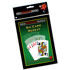 Six Card Repeat - Multiplying Card Magic Trick - Bicycle Card Stock
