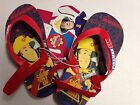 NEW FIREMAN SAM SLING BACK FILP FLOP THONGS SUMMER PLUGGERS- LIMITED STOCK AUS