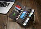 Multifunction Wallet Cover Removable Back Case For iPhone 6s Plus/7 Plus/Galaxy