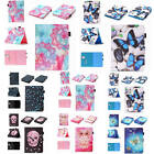 For iPad/Samsung Tab Card Pocket Wallet PU Leather Case Cover With Stylus Holder