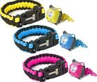 Trespass Nubbet Survival Kit Head Torch Paracord Bracelet Flint Stocking filler