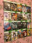 Microsoft Xbox 360 Replacement Cases / Case Only / No Game / Free Shipping