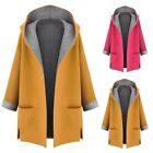 Women Warm Winter Hooded Coat Jacket Parka Long Overcoat Trench Outwear Cardigan