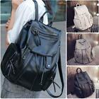 Fashion Women's Leather Travel #B Satchel Shoulder Backpack School Rucksack Bags