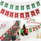 Xmas Christmas Tree Hanging Flag Banner Ornament Gift Home Yard Decor Baubles