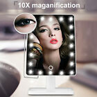 Adjustable 10XMagnifying 20LED lighted Vanity Make-up Cosmetic Countertop Mirror