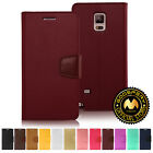 GOOSPERY® Sonata Diary PU Leather Wallet Case Cover for Samsung Galaxy Note 4
