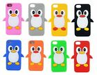 New Apple iPhone 5 5S SE 5C Cute Penguin Silicone Soft Phone Case Cover
