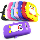 New Samsung Galaxy S3 I9300 Cute Penguin Silicone Soft Phone Case Cover