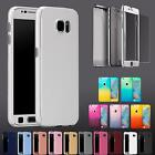 New Shock Proof Case Full Body Silicone Cover and Gorilla Glass Screen Protector