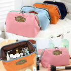 Women's Beauty Cosmetic Bag Lady Makeup Storage Pouch Top Trendy Toiletry Case