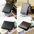 Men Leather Wallet Pocket Coin ID Card Money Holder Bifold Purse Passcase