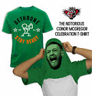 CONOR MCGREGOR DETHRONE CELEBRATION  T-SHIRT Notorious MMA Shirt UFC SHIRT