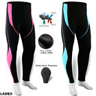 Ladies Winter Cycling Pants Tights Thermal Trouser Bike Bicycle Coolmax Padded
