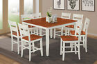 """54"""" SQUARE SUNDERLAND COUNTER HEIGHT PUB DINING TABLE SET in"""