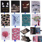 New Beautiful Cute Cartoon Stand Leather Cover Skin case for Samsung Ipad tablet