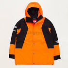 Supreme The North Face Mountain Light Jacket TNF FW16 tee box cap logo -Orange