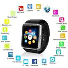 GT08 Touch Screen Bluetooth Smart Wrist Watch Phn Mate For Android & IOS-B