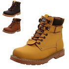 MTN Fashion Men's Casual Suede Warm Work High Top Leather Martin Boots Shoes