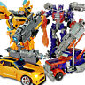 Car Action Figures Grimlock Bumblebee Optimus Prime Megatron Kid Toy Gifts