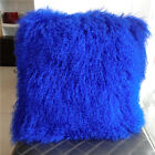 Luxury Real Lamb Fur Soft Warm Pillow Cushion Cover 45*45 cm