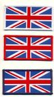 WOVEN UNION JACK SEW ON PATCH SMALL