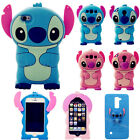 3D Stitch Soft Silicone Rubber Gel Cover Case For iPhone 4/5/6/7G/S+ Samsung J3