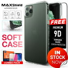 iPhone X 8/7, 7/8 Plus Case, MAXSHIELD Ultra thin Slim Crystal Clear Soft Cover
