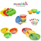 Munchkin Baby Self-Feeding Toddler Stay Put Bowls/ Plates Heat Sensor/ Spoons