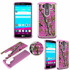 For LG V10 Diamond Protective TPU+PC Bling Shockproof Dual Layer Cover