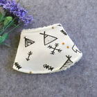Newborn Baby Boy Girl Kids Toddler Bandana Saliva Towel Feeding Dribble Fur Bibs