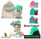 NEW Yummy Mitt Teething Mitten Glove - 3-12 Months - Glow in the Dark Silicone!