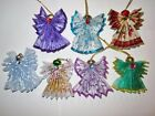 RIBBON GUARDIAN ANGELS BAPTISM CONFIRMATION ORNAMENT PARTY FAVORS  LOT OF 12