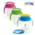 WOW Baby Training Cup - 207ml - 360° drinking rim- Spill free cup - 3 Colours!