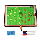 PU Cover  Pro Football Soccer Sports Coaches Tactic Folder Board Managers Kit
