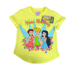 LICENSED DISNEY FAIRIES TINKERBELL MERRY CHRISTMAS PIXIE HOLIDAY KIDS SHIRT