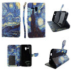 For For Samsung GALAXY AMP 2 / J1 Wallet PU Leather Flip Case Card Holder Cover
