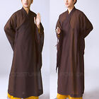 New Zen Buddhist Meditation Haiqing Robe Kung Fu Long Gown Shaolin Monk Suit