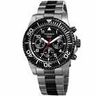 Men's Akribos XXIV AK950 Diver Chronograph Stainless Steel Bracelet Watch