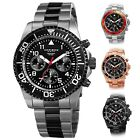 Men's Akribos XXIV AK950 Diver Chronograph Stainless Steel Bracelet Watch image