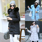 New Fashion Winter Warm Jacket Women Down Cotton Coat Hooded Parka Outerwear New