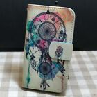 1x Dandelion Dream Catcher Butterfly Wallet Flip case cover for Microsoft Nokia