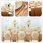 90x132inches Champagne Sequin Tablecloth for Sale,Sequin Embroidered Tablecloth